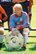 Oliver kahn bayern munich 1999-00 rarezas foto