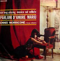 """Rare 7"""" ENNIO MORRICONE  e i cantori di ALESSANDRONI 7"""" PARLAMI D'AMORE MARIU'"""