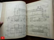 Civil Engineering in Europe 1901 French illustrated journal rare monumental book