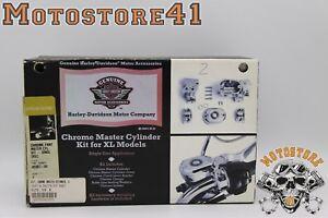 Harley Davidson Kupplungs-und Bremszylindersatz chrom 42307-04 CLUTCH AND MASTER