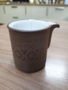 Retro Hornsea Pottery Small Palatine Milk Cream Jug Creamer No Handle