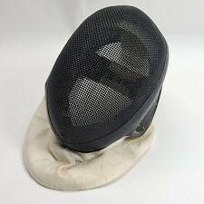 Vintage Leon Paul Fencing Mask Black Mesh