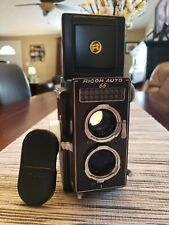 VINTAGE RICOH AUTO 66 TLR 120 FILM CAMERA WITH RIKEN 8 CM F/3.5 THE ROLLEIMAGIC