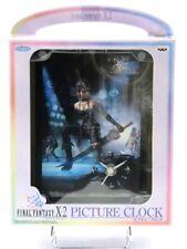 Final Fantasy X-2 Picture Clock PAINE SquareSoft / Banpresto Japan NEW 2003