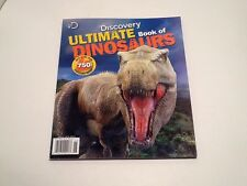 Brand New Discovery Ultimate Book Of Dinosaurs Magazine-Type Facts Illustrations