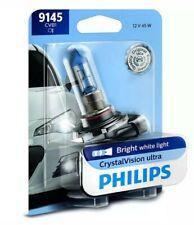 Fog Light Bulb-CrystalVision Ultra - Single Blister Pack Front Philips 9145CVB1