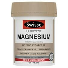Swisse Ultiboost Magnesium Tablets 120 pack