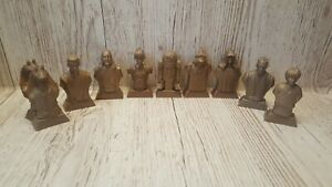 Vintage Kellogg's Star Wars Episode 1 Phantom Menace Mini Statues Busts Bundle