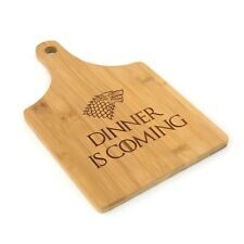 Game of Thrones  Dinner is Coming  Bamboo Chopping and Serving Boards Gift