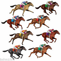 MELBOURNE CUP RACE HORSE PROPS INSTA THEME CUTOUTS JOCKEY PARTY WALL DECORATION