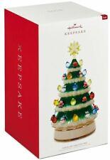 "Hallmark Christmas 2018 Table Decoration Porcelain Tree like Ceramic Light 10"""