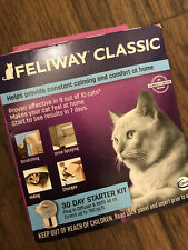 Feliway Classic Diffuser- 30 Day Starter Kit- New