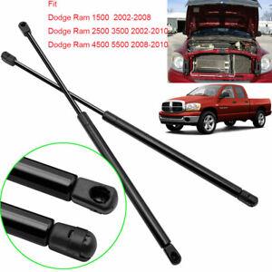 For Dodge Ram 1500 2002-08 25/3500 2002-10 45/5500 2008-10 Bonnets Gas Struts X2