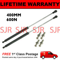2X UNIVERSAL GAS STRUTS SPRINGS KIT CAR OR CONVERSION 400MM 40CM 600N & 4 PINS