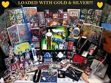 Huge vintage Junk Drawer Lot jewelry Gold 90%Silver Coins comics estate toys Old
