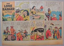 Lone Ranger Sunday Page by Fran Striker and Charles Flanders from 8/4/1940