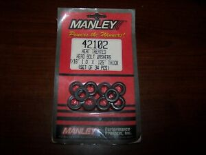 New in Package Manley Cylinder Head Bolt Washers BBC SBC 42102 ***Free Shipping