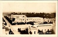 Vtg 1910's RPPC Panoramic View of Buildings, Unknown, Real Photo Postcard