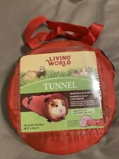 Pet Tunnel for rats, ferrets, guinea pig - Collapsible With Carrying Case.