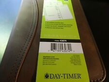Day Timer Undated Distressed Sim Leather Planner Extras 6 Ring 3 34 X 6 34
