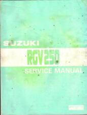 SUZUKI RGV250 K,L,M,N,P,R,T,VJ21,VJ22 1989-1996 FACTORY WORKSHOP MANUAL
