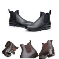 Fashion Rain Boots Women Shoes Chelsea Rubber Ankle Boots Waterproof Winter New