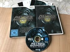 Metroid Prime Trilogy (Nintendo Wii, 2009, DVD-Box)