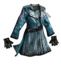 NEW! DISNEY STORE DESCENDANTS 2 UMA COSTUME DRESS SIZE 7/8 MAL EVIE URSULA