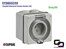 Clipsal Easy56 Series Industrial Socket Outlet - IP66