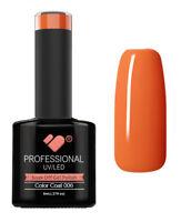 006 VB Line Hot Salmon Orange - UV/LED nail gel polish - super quality
