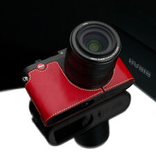 GARIZ Black Label leather case Leica X Vario BL-LCXVR Red