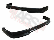 1992 1997 VolksWagon Golf 3 P1 Style Front Lip Black Unpainted ABS Plastic