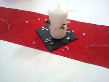 Servierplatte Tischdeko Tischset Untersetzer Quadrat Schiefer ca10x10cm 12er Set