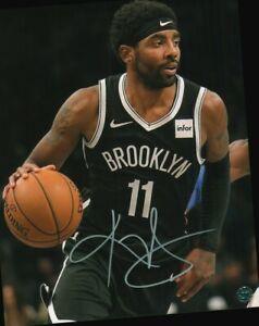 Kyrie Irving 8 x10 Autographed Photo COA NBA Basketball Player Brooklyn Nets