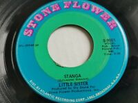 LITTLE SISTER - Stanga / Somebody's Watching You 1970 FUNK SOUL 7""
