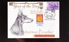 DOBERMAN PINSCHER COVER, 2006 YEAR OF THE DOG STAMP 2