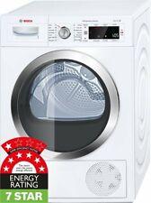 NEW Bosch Serie 8 9kg Heat Pump Dryer with selfCleaning condenser WTW87565AU