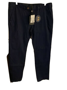 Ted Baker Men's Navy Chino Trousers W34 L32