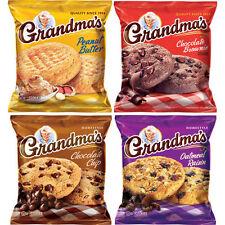 Grandma's Homestyle Cookies, Variety 2.5 oz 33 ct  Packs x 2 Cookies = 66