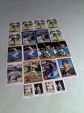 Todd Burns:  Lot of 125+ cards.....25 DIFFERENT / Baseball