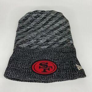 San Francisco 49ers Football Beanie Men's One Size New Era Gray NFL