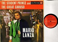 MARIO LANZA the student prince/great caruso RB-16113 uk rca red seal LP VG/VG