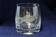 The Parachute Regiment Whisky/Spirits Glasses in silk-lined gift box.