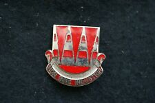 US ARMY 63 ENGINEER BATTALION PIN DISTINCTIVE INSIGNIA ENAMELLED CLUTCH PIN