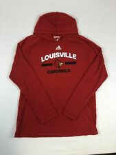 NEW adidas Louisville Cardinals - Men's Red Clima-lite Pullover (XL)