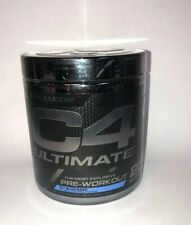 CELLUCOR C4 ULTIMATE PreWorkout Icy Blue Razz 13.8 OZ BOOST ENERGY & IMMUNE