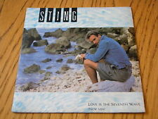"STING - LOVE IS THE SEVENTH WAVE    7"" VINYL PS"