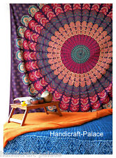 Indian Mandala Queen Wall Hanging Bedspread Throw Tapestry Hippie Tapestries