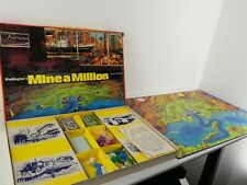 Vintage Waddingtons Mine A Million Board Game 1965 Fully Complete D11