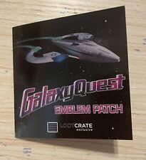 Loot Crate Galaxy Quest Emblem Replica Prop Patch